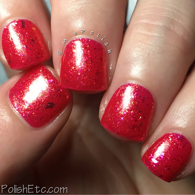 Ever After Polish - Flake It Up Collection - McPolish - Tequila Sunrise