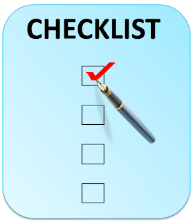 Checklist analysis to identify risks