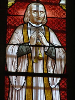 Curé d'Ars, église de Saint Laurent Rochefort ©F.D KT42
