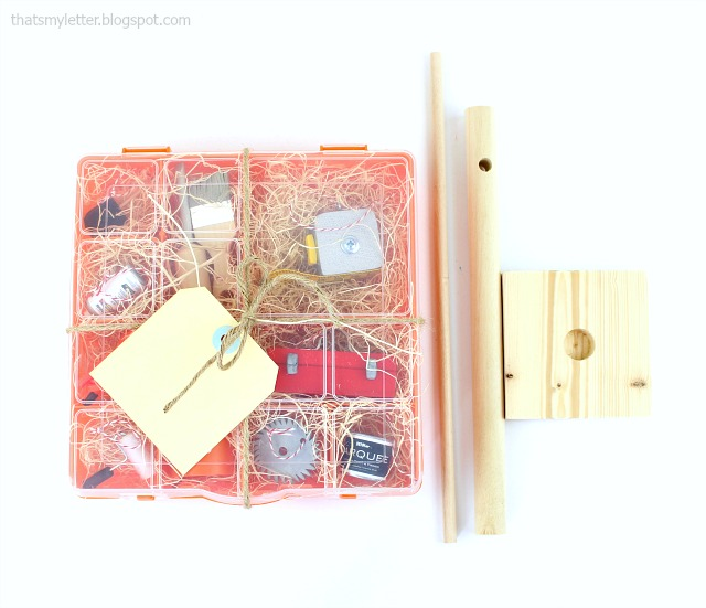 mini tool ornaments gift box