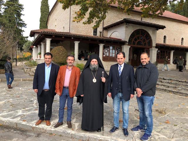 Γιάννενα: Εκπρόσωποι Του Συνδυασμού Ισχυρού Επιμελητηρίου Συνάντησαν Τον Μητροπολίτη Ιωαννίνων Στον Ιερό Ναό Περιβλέπτου