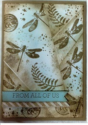 Retiform technique just for you by Nikki zena kennedy independent stampin up demonstrator