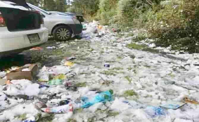 Ecología, limpieza, plástico