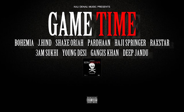 Game time - Introduction track from the upcoming KDMMixtape is droppin next