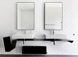 Inspirasi Desain Kamar Mandi Minimalis dengan Cermin Idaman
