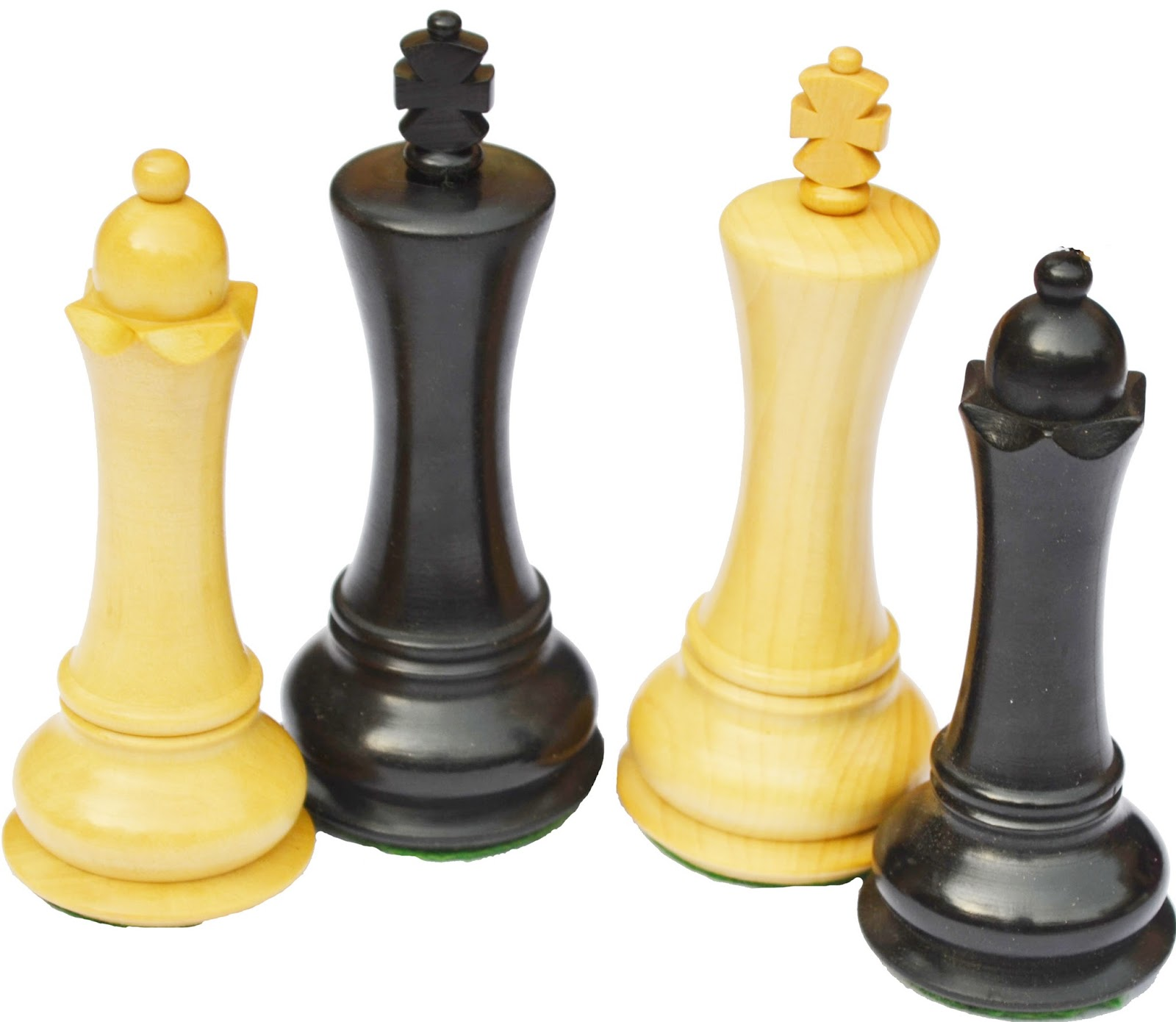 Empire design wooden weighted chess set king 4 32 chess - Inexpensive chess sets ...