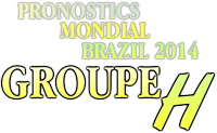 pronostic brazil groupe H