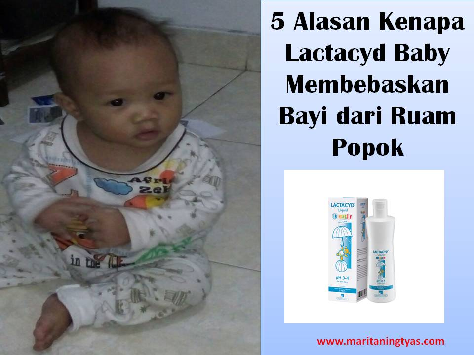 Review Lactacyd Baby untuk Membebaskan Bayi dari Ruam Popok