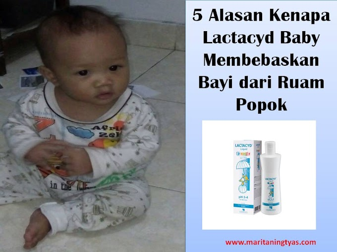 5 Alasan Kenapa Lactacyd Baby Membebaskan Bayi dari Ruam Popok