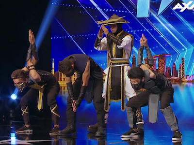 Adem Dance Crew - Asia's Got Talent - Mortal Kombat