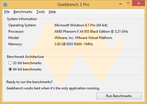 Geekbench 3.3 Pro
