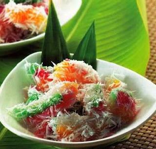 Kue Cenil Kue Tradisional Jajanan Pasar Khas Indonesia