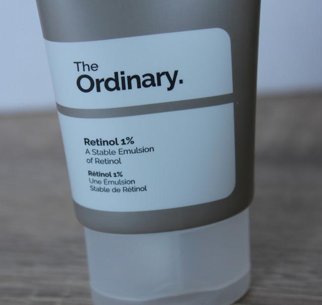 Retinol 1% close up