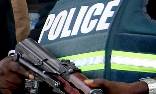 nigeria police gun