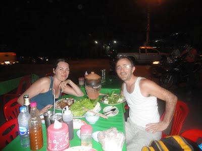 Marché de nuit, night market, temple Thaïlande, Ayutthaya, location vélo, guesthouse