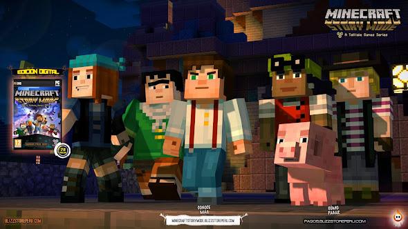 Comprar Minecraft Story Mode en Perú