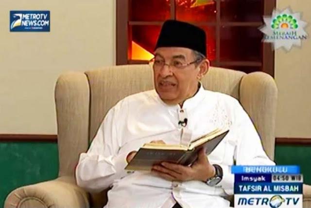 Ulama Metro TV Quraish Shihab