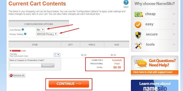 pembayaran-transfer-domain-namecheap-namesilo