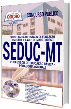 Apostila SEDUC-MT 2017 Professor - Pedagogia (Global)