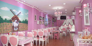 Hello Kitty Cafe & Kitty's Corner Cafe