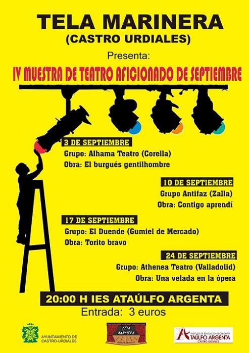"""IV Muestra de Teatro aficionado - Obra """" Una velada en la �pera"""" en Castro Urdiales"""
