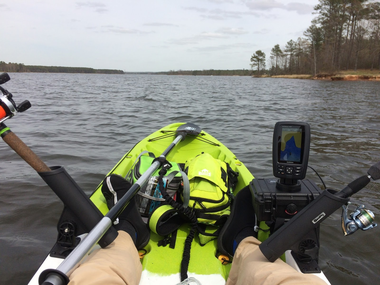 fish finder installation