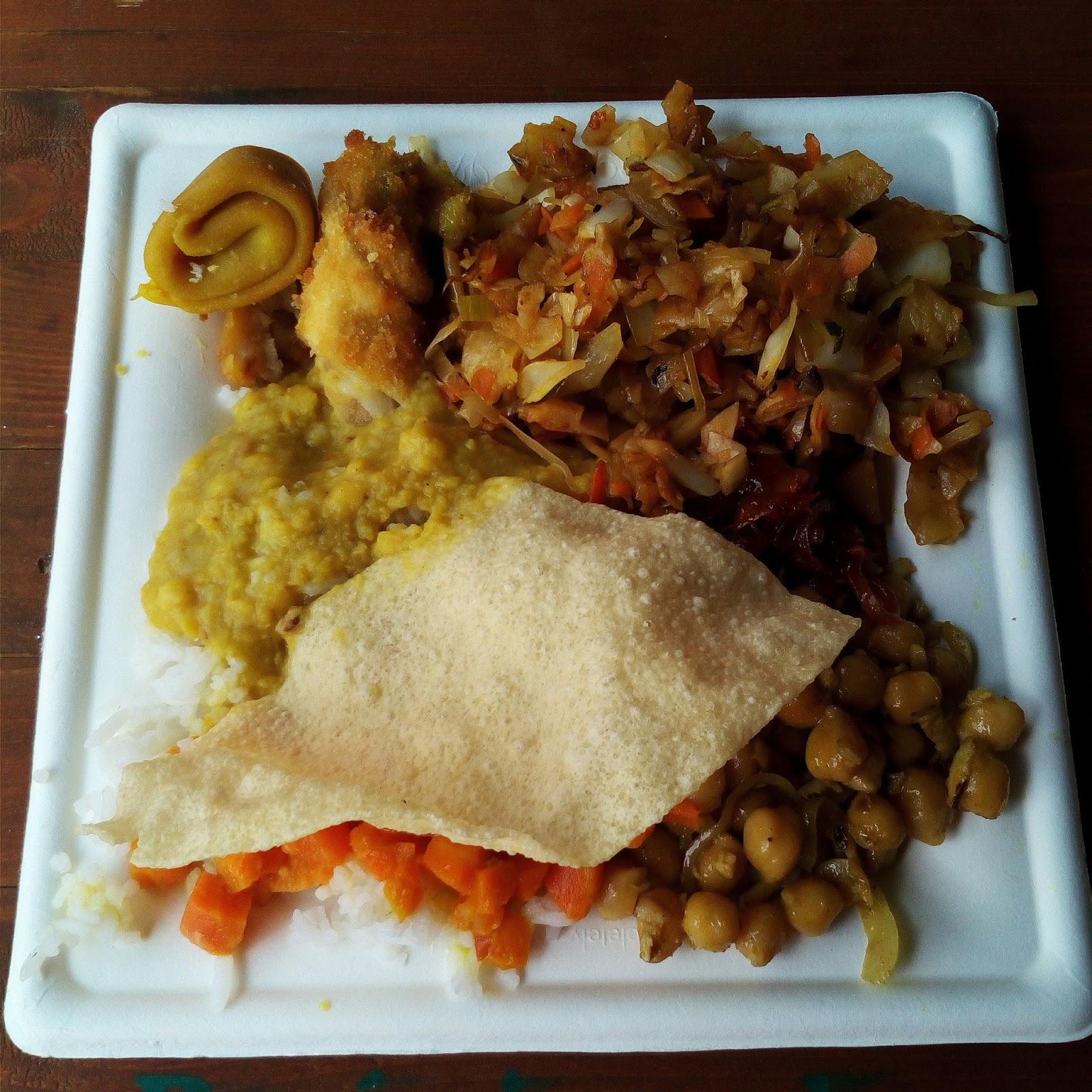 indické jídlo na Garden food festivalu v Olomouci
