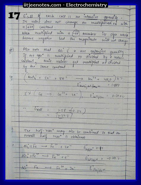 Electrochemistry Notes2