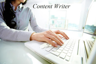 Urgent opening for Content Writer