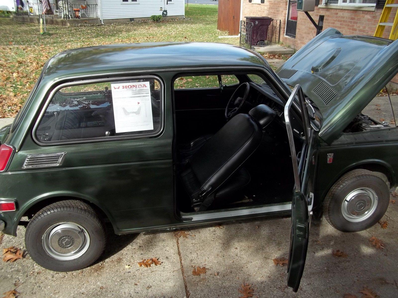 1971 Honda An600 Sedan Rare Micro Japanese Car Barn Find