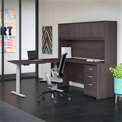 Studio C height adjustable desk configuration