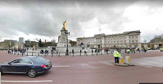 Buckingham Palace is the London residence and administrative headquarters UK