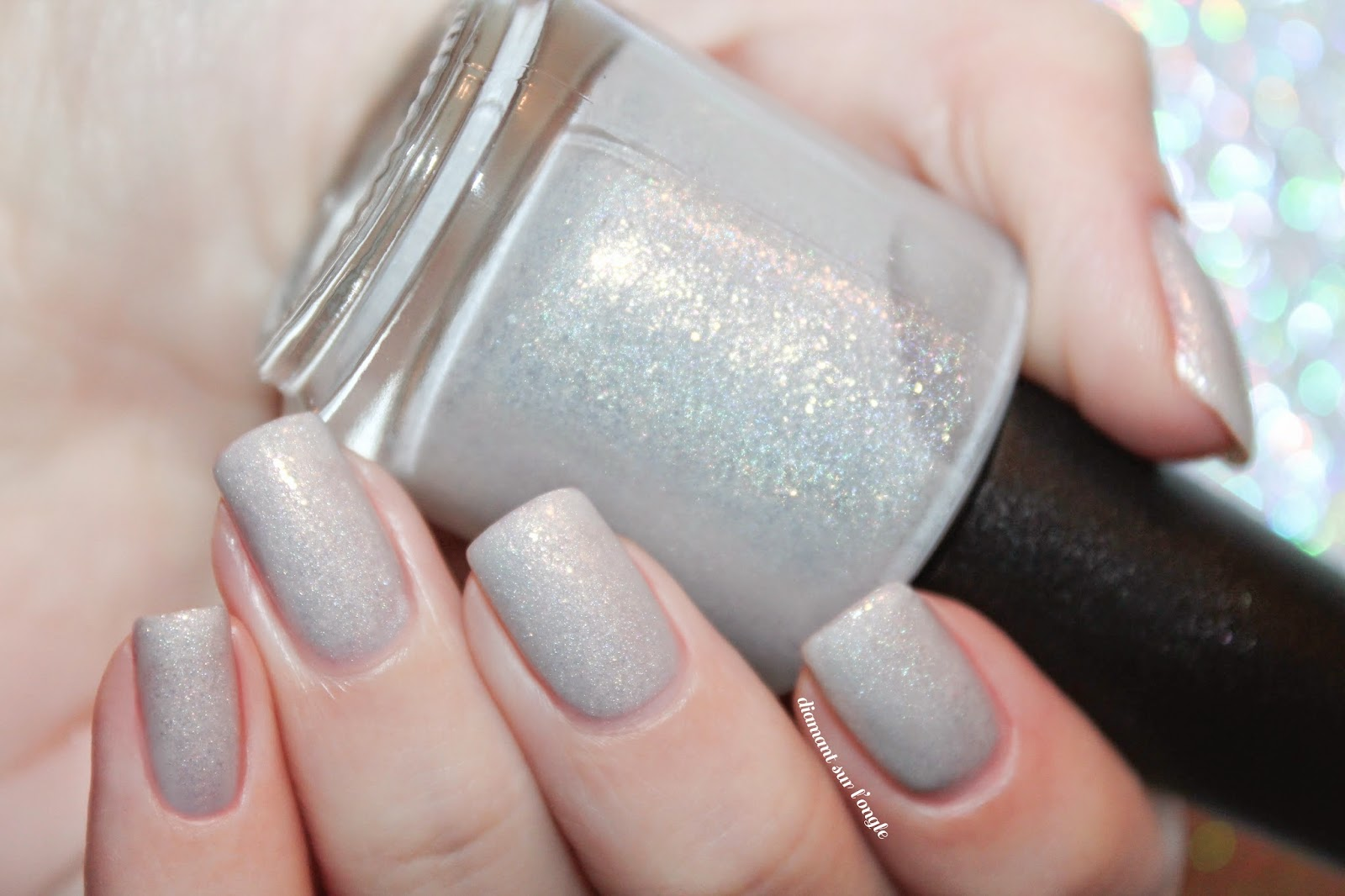 Swatch of Lunar Lights by Lilypad Lacquer
