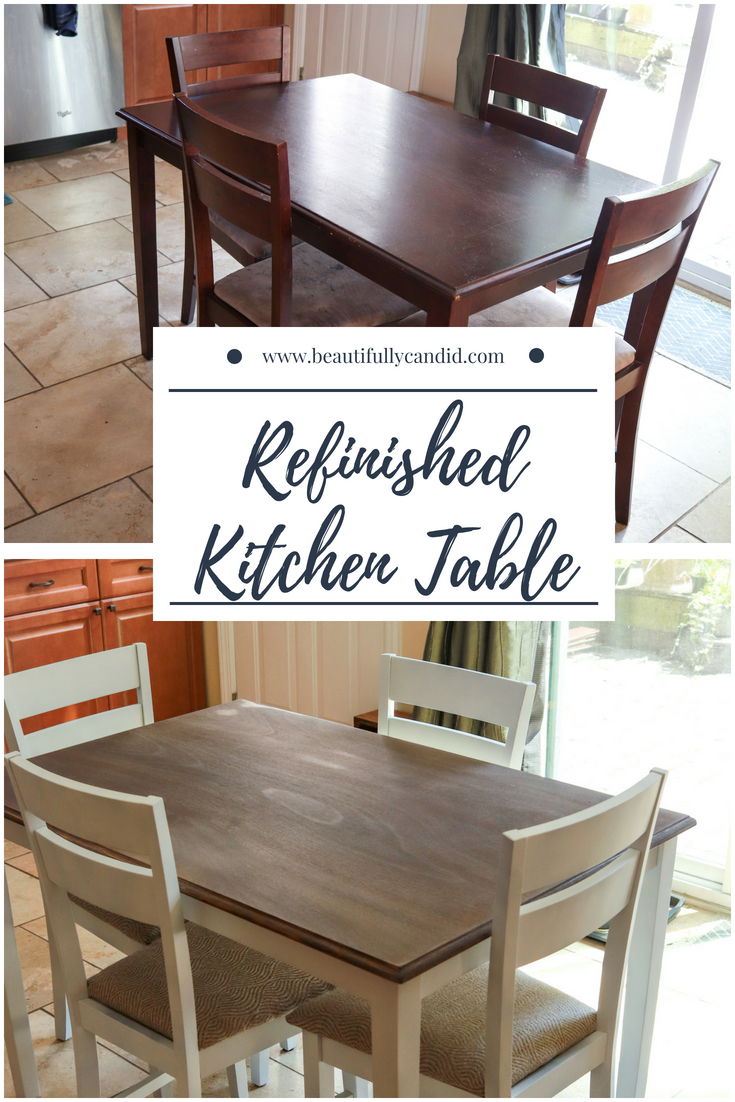 Refinishing Kitchen Table refurbished-kitchen-table