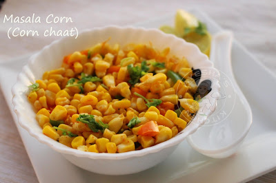 sweet corn for kids meal or snack which is healthy indian recipes / veg recipes of india in ayeshas kitchen malabar recipes