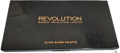 Paleta de coloretes makeup revolution