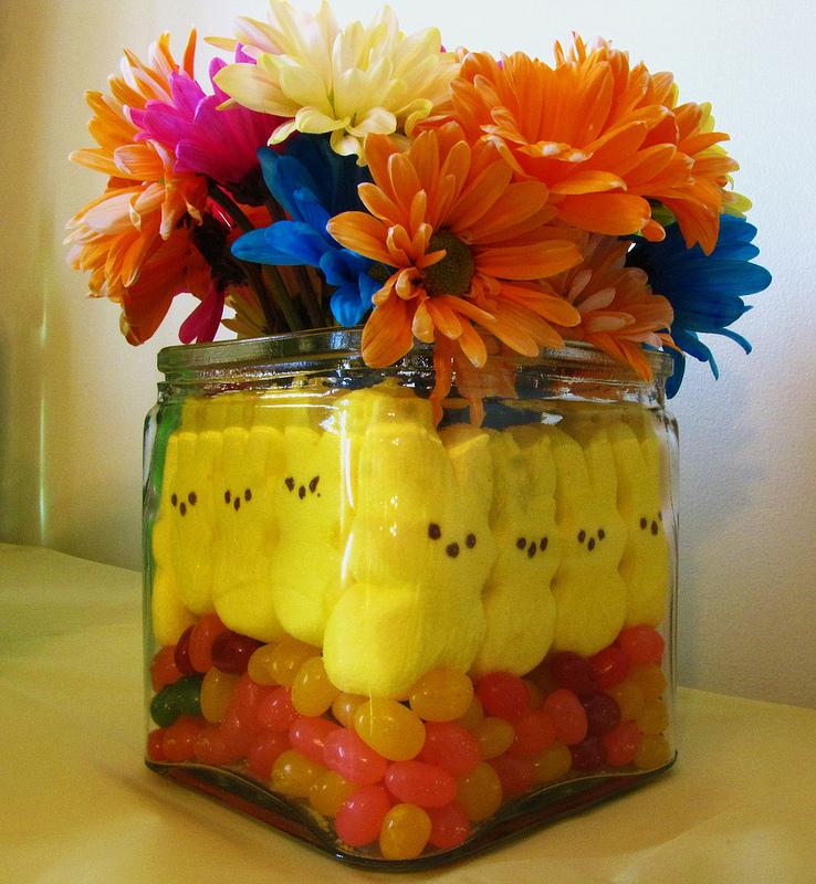 Honey Amp Butter Peeps Easter Floral Vase