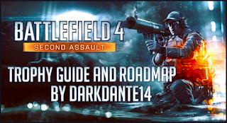 Battlefield 4: Second Assault DLC Trophy Guide and Roadmap