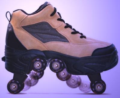 Pop Heel Roller Shoes
