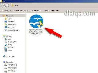 file instalasi hasil unduhan