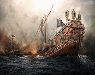 La Real en la Batalla de Lepanto
