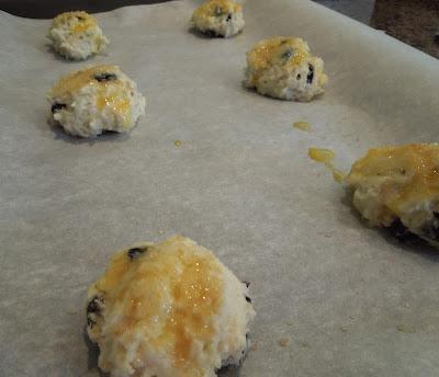 Blueberry Buttermilk Scones