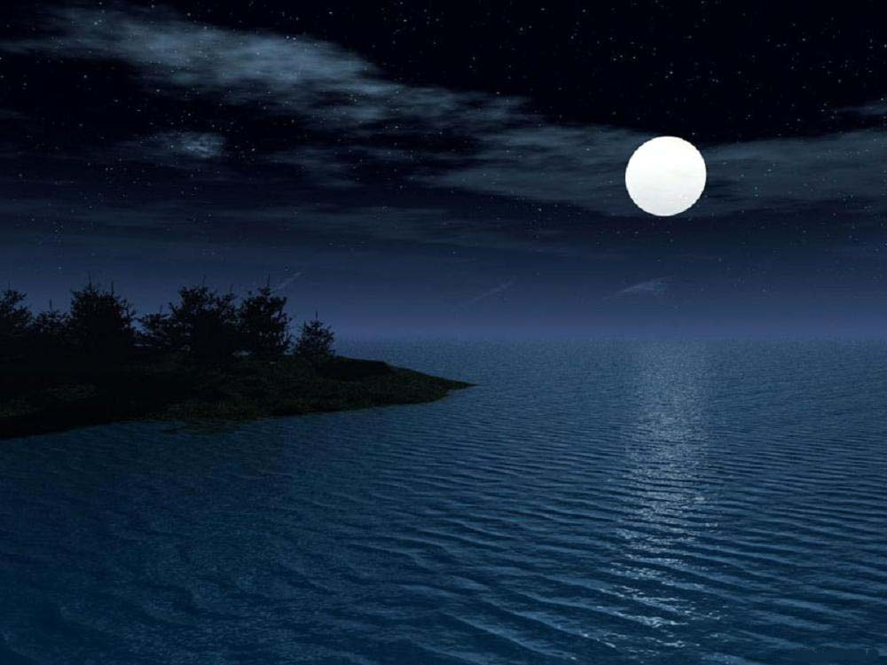 "Wallpaper: Moonlight ""Extreme Beauty Of Nature"""