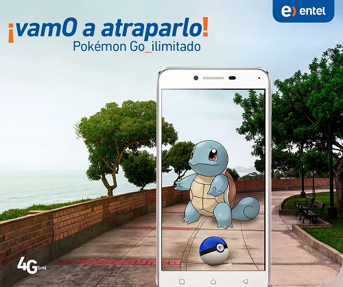 POKEMON GO ILIMITADO CON ENTEL