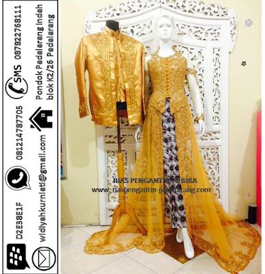 Persewaan Baju Pengantin Modern Murah  BPM1001