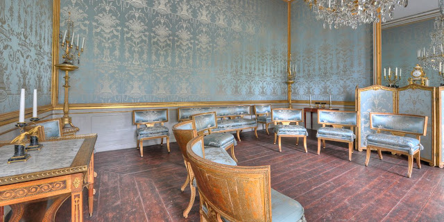 Gustav III's Pavilion is one the finest examples of late 18th century Swedish Gustavian style
