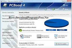 تحميل برنامج تسريع الجهاز PCBoost