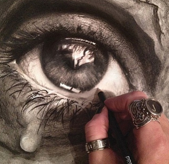 Incredible Drawing Works by an American Artist