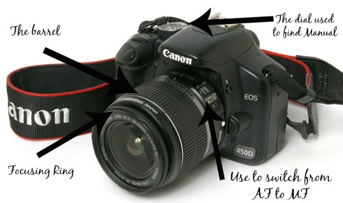 How To Use The Manual Settings On Your Camera easy help guide step by step info graphic