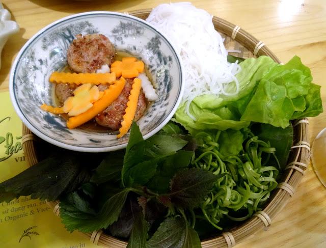 Bun Cha - Chao Em! Viet Bistro in Ben Thanh, Ho Chi Minh City